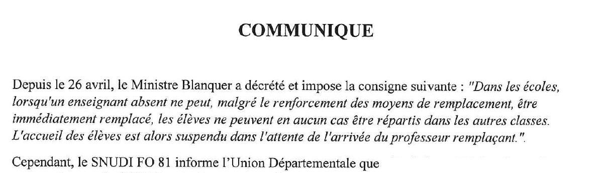 début communiqué UD 12 mai 2021